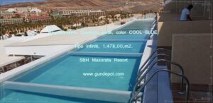 Revestimiento Piscina Hotel Maxorata Resort